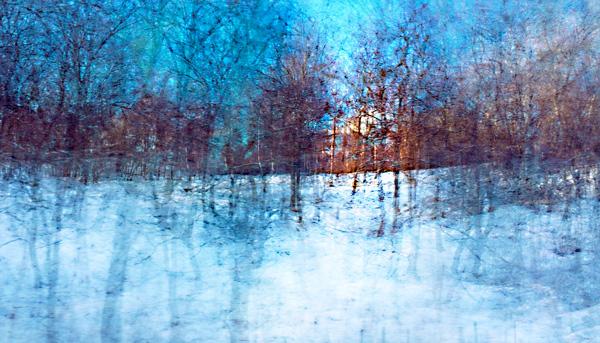 snow blue
