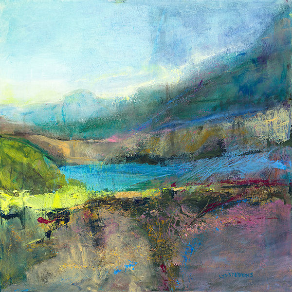 texture of the Highlands PRINT 27x27cms