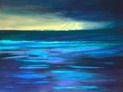 the Montrose light awaits the storm