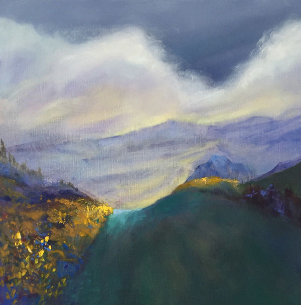 the way to the light, Wester Ross PRINT 27x27cms