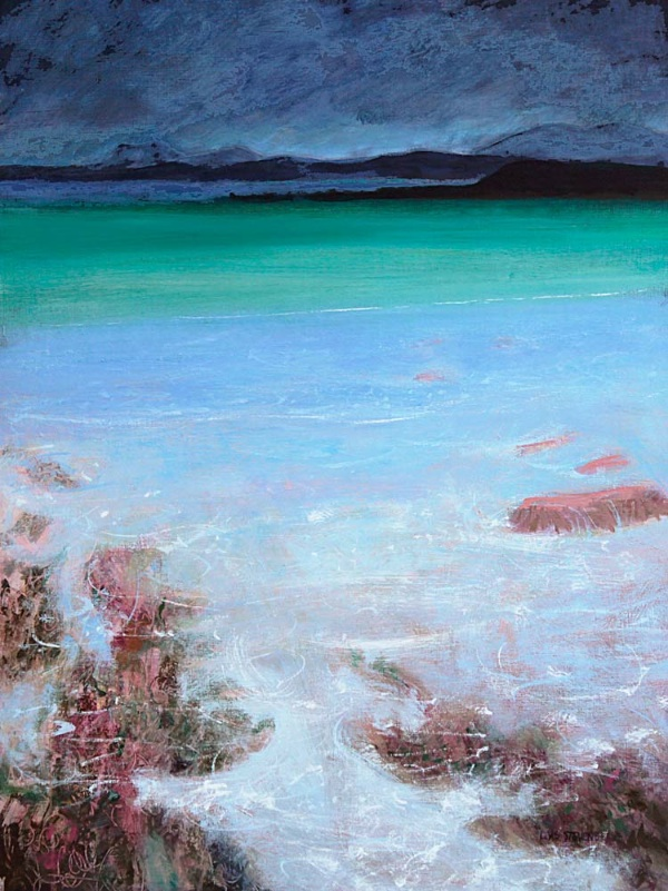 tide lapped in among the weed, Mellon Udrigle