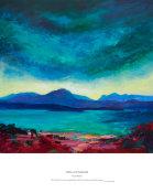 wild sky over the Torridon hills
