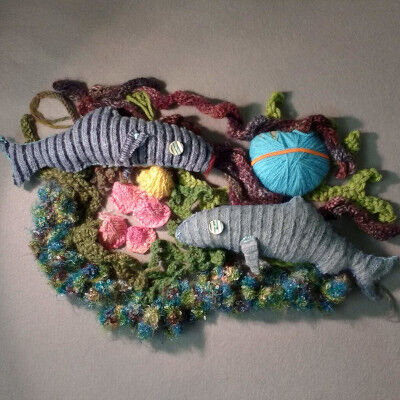 A textile tribute to Edinburgh's shoreline made by the people who live there.
