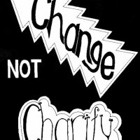 Change not charity