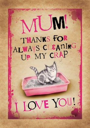 Thanks Mum!