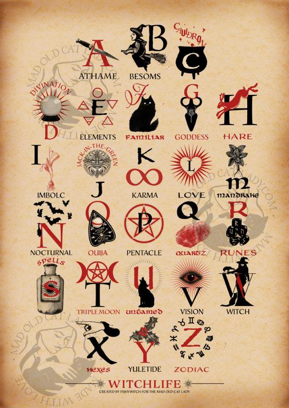 Witchlife an A-Z