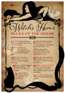 A4 Witch House Rules