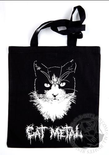 Cat Metal Tote Bag