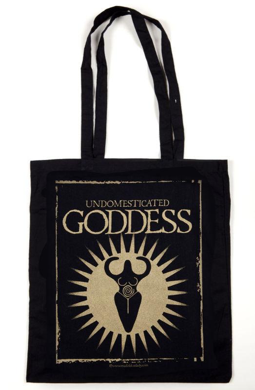 Undomesticated Goddess tote bag
