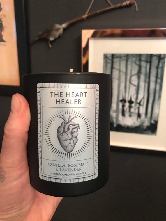 THE HEART HEALER LUXURY CANDLE