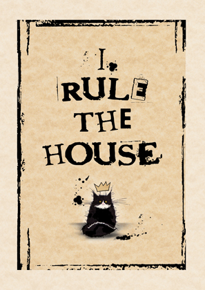 I Rule The House (calico 1)