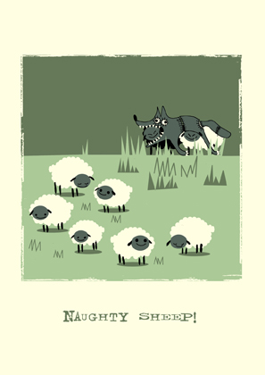 NAUGHTY SHEEP