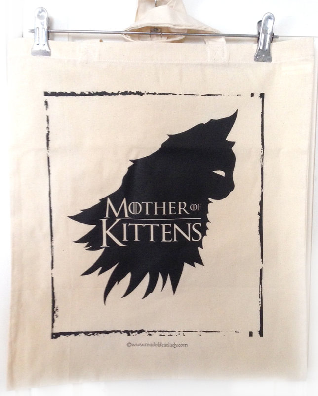 Mother Of Kittens tote