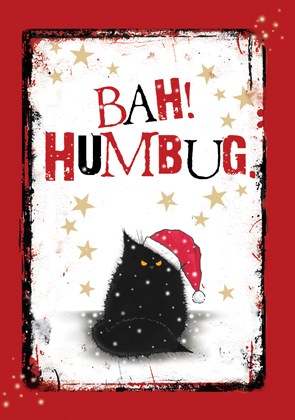 Bah! Humbug (black)