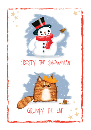 Frosty and grumpy