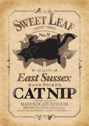 Sweet Leaf Cat Nip