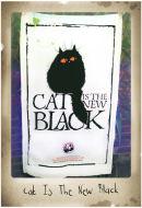 Cat is the new black tea towel