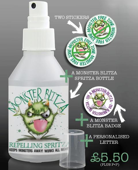 MONSTER BLITZA Repelling spritza kit