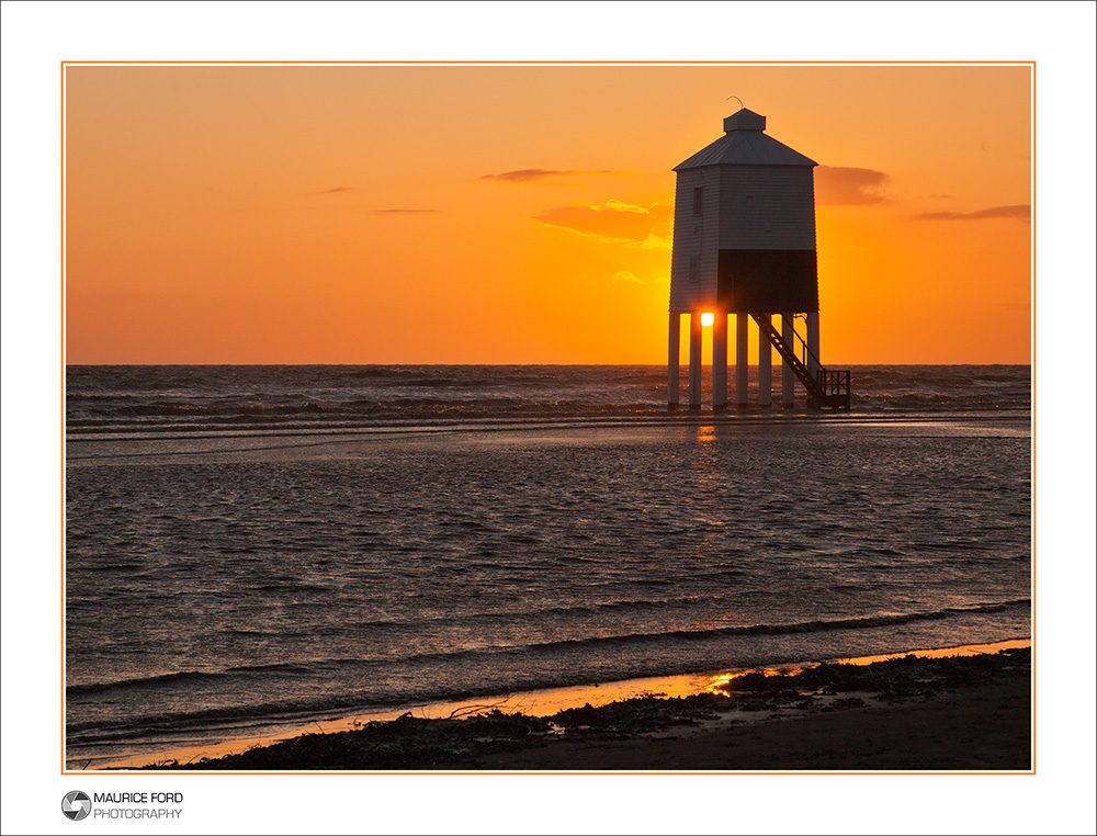 Old Lighthouse at Sunset