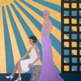 Escape From Reality (Art Deco Women)