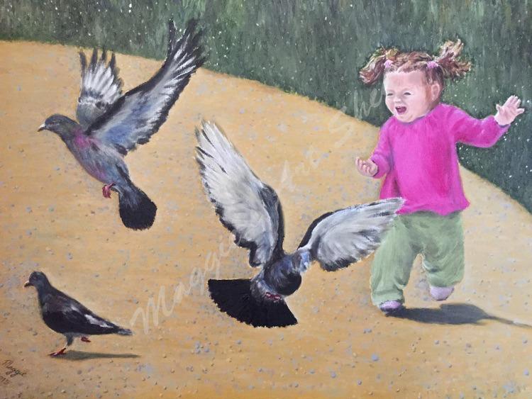 Pigeon Panic