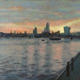 Spring Sunrise Over Thames