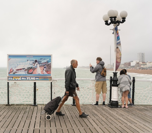 Brighton - Strolling on the Pier