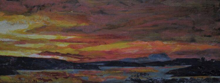 Clare Island Sundown 2