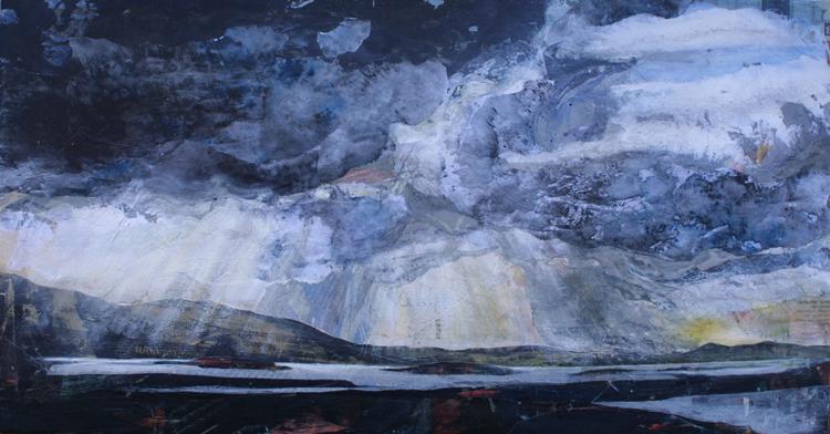 Croagh Patrick Shafts of Light 2