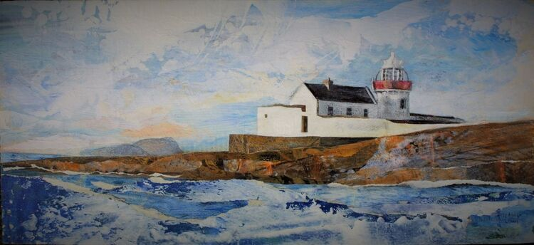 Inishgort Lighthouse & Clare Island