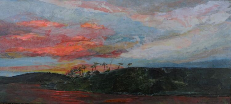 Rossanrubble Pink Sky 2
