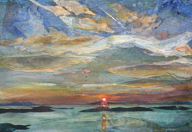 Clare Island Sunset 2