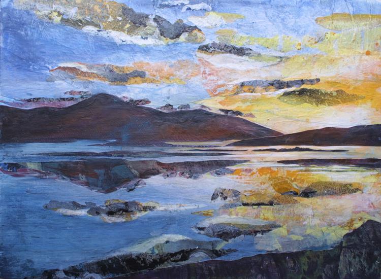 Croagh Patrick Sunset