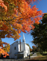 Church at Peacham, Vermont