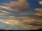 Sunset at Torres - spectacular lenticular clouds