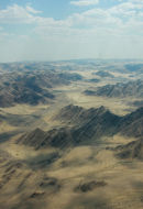 Namib desert aerial mountains