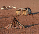 Typical Himba settlement