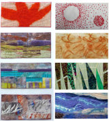 Coloured Journal Quilts 2015