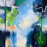 More Blue Than Green (Triptych)