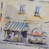 Parisian Street (after Alex Hillkurtz)