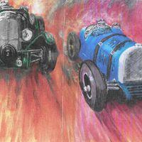 1930's Racing Cars