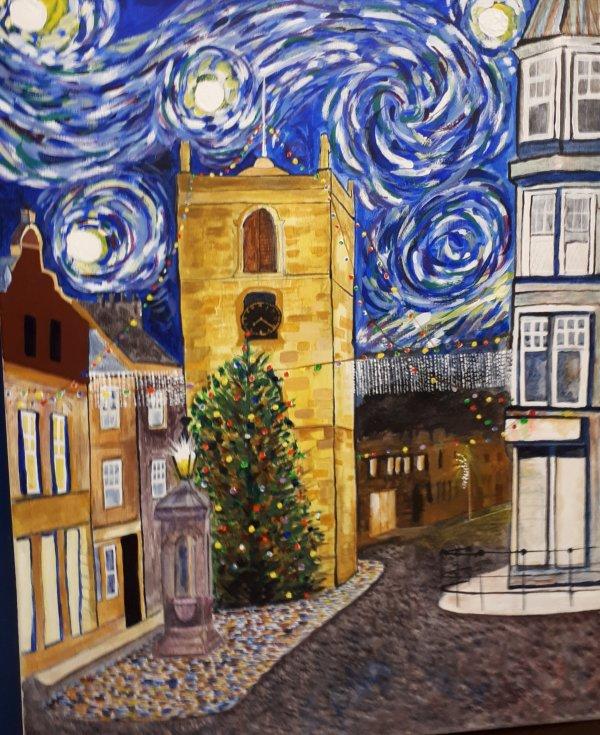 Karen's 'Van Gogh'.