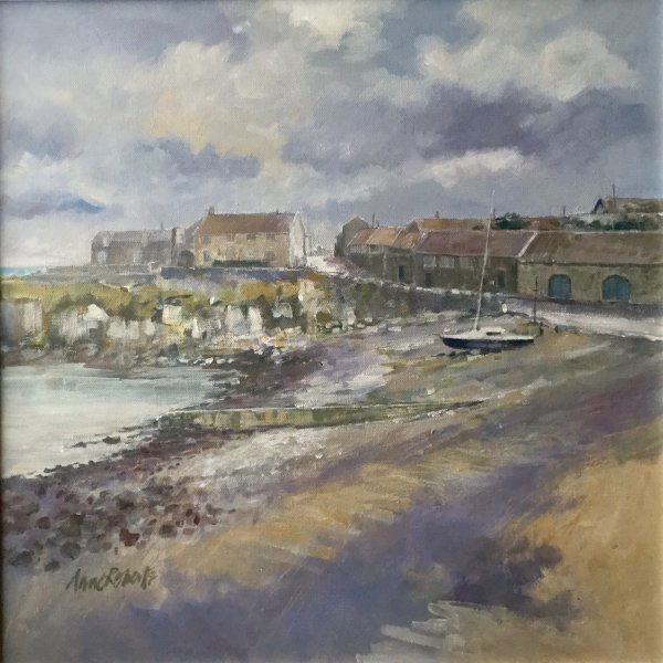 CRASTER 40x40cm ACRYLIC ON CANVAS £300.00