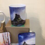 Mug & Coaster Set, by Judith Herdman