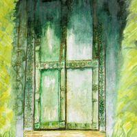Majorcan Door