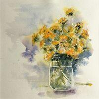 Bouquet In A Jar