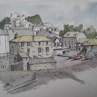 Cornwall Port Isaac, by Derek Robinson