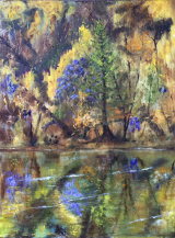 Autumn Reflections  Oil 18 X 24in £100