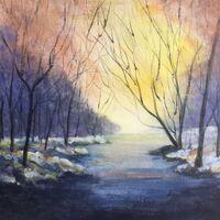 Rising Sun, by Judith Herdman