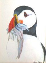 Black Tie Dinner   Watercolour 39 X 33 cm  £40